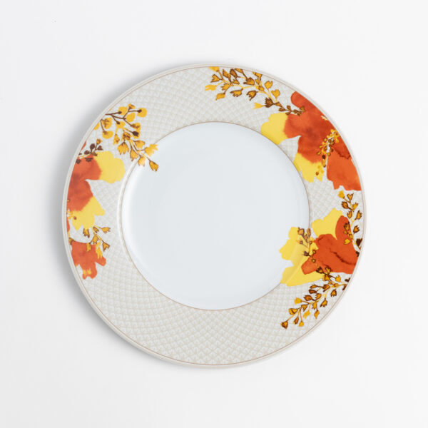 Poppy Orientale - Charger plate