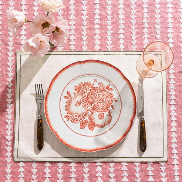 Oscar de la Renta - dinner plate